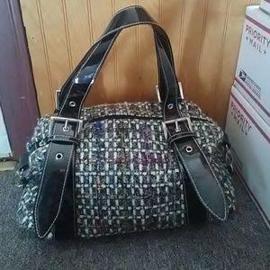 Vintage 90's Tweed Handbag